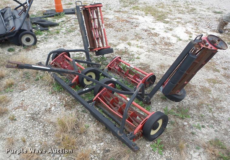 Pro Mow reel mower