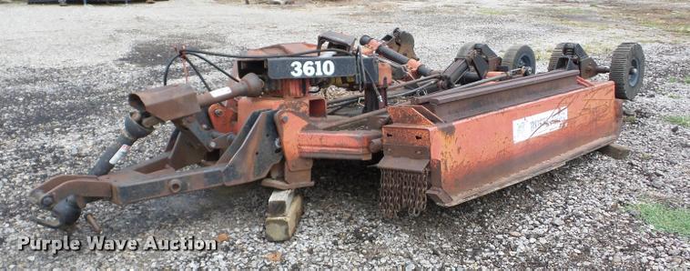 Bush Hog 3610 batwing rotary mower
