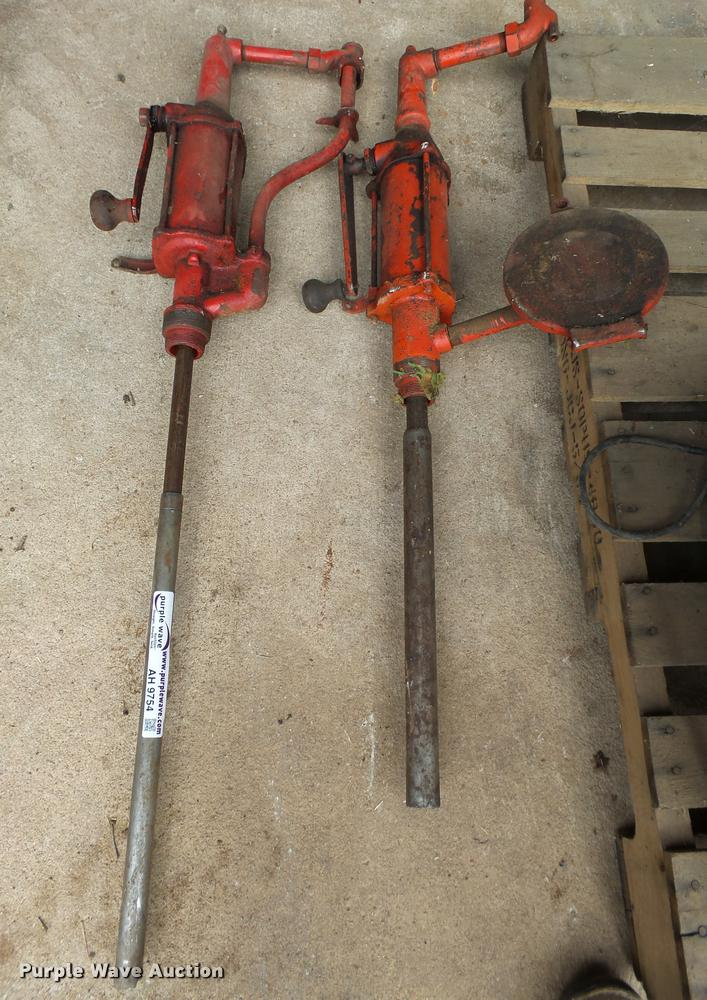 (2) Phillips barrel pumps