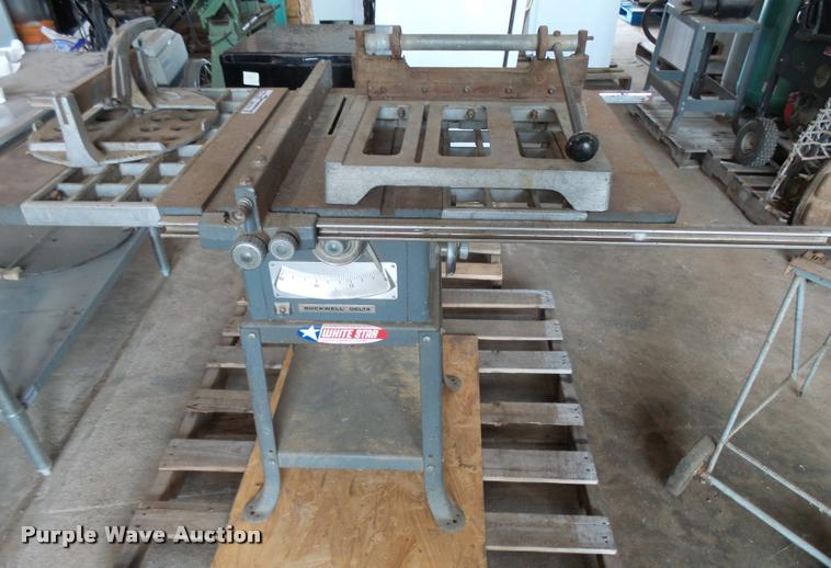 Rockwell 62-273 table saw