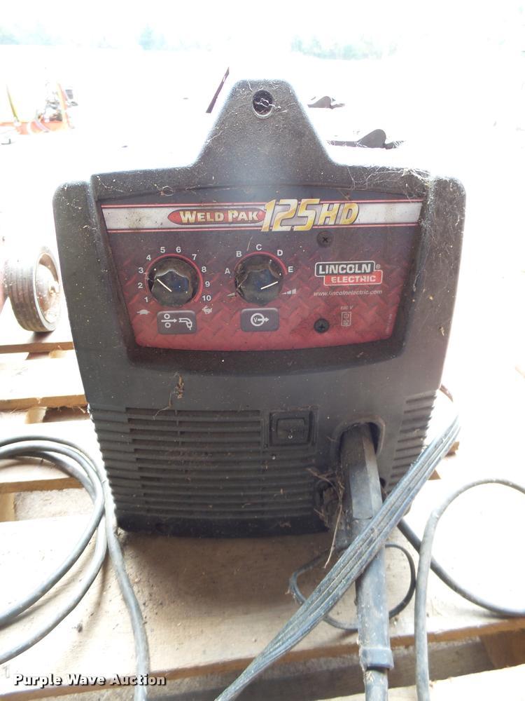 Lincoln Electric 125 HD Weld Pak wire welder