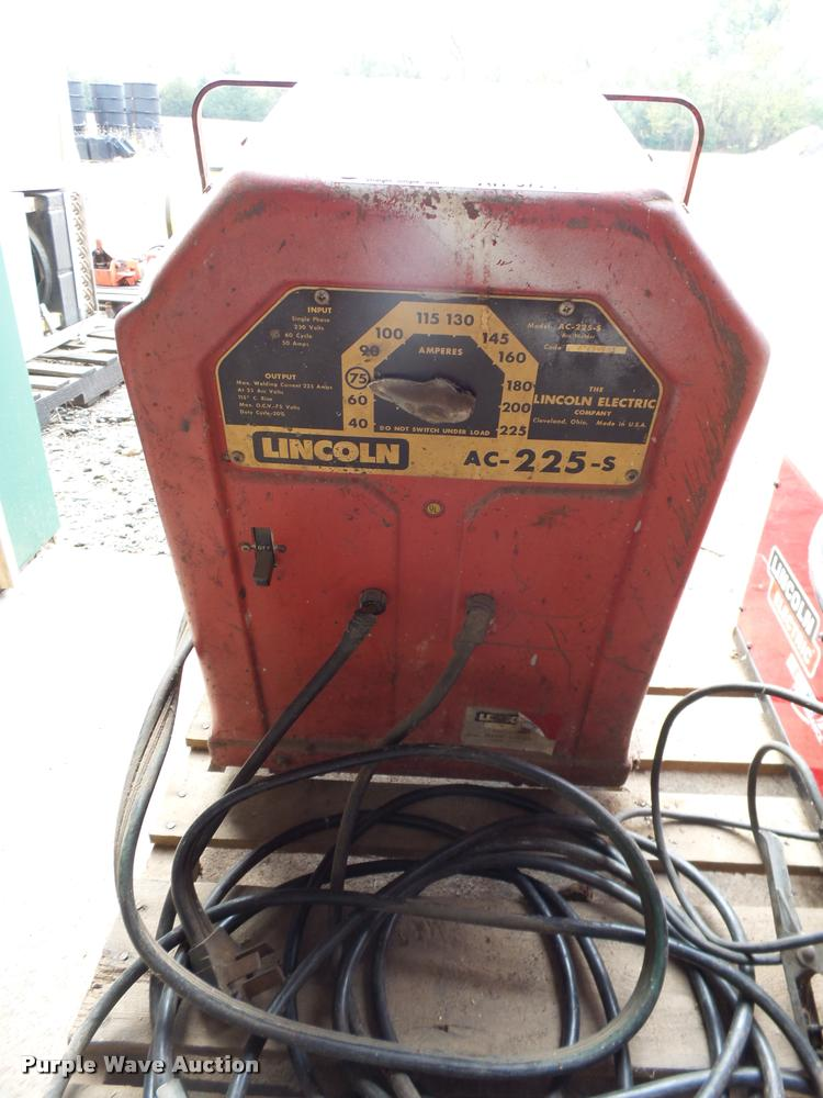 Lincoln AC-225-S stick welder