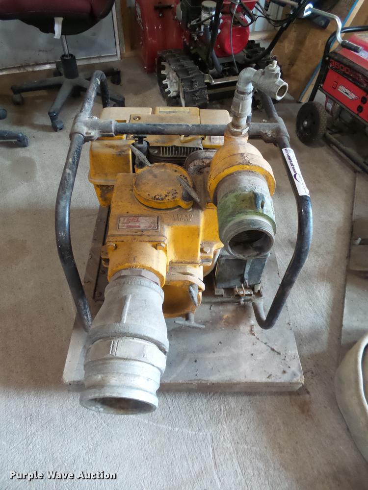 Teel 2.5x4 trash pump