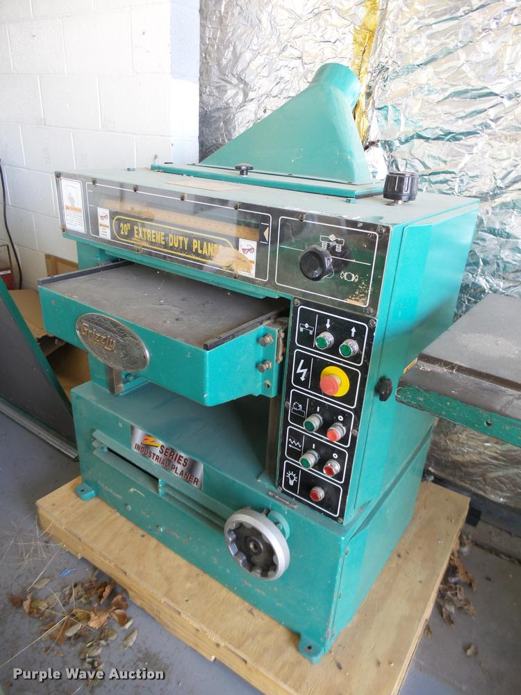 Grizzly G9740 planer