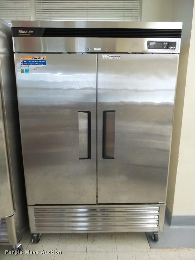 Turbo Air TSR-49SD stainless steel refrigerator