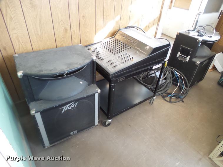 Peavy sound system
