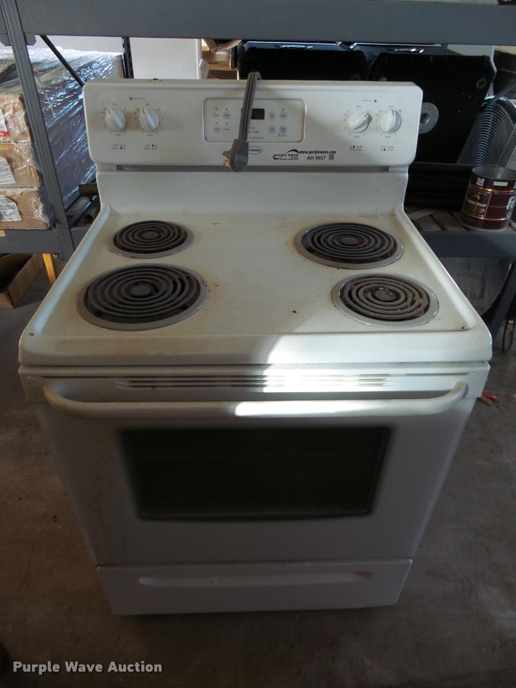 Crosley oven