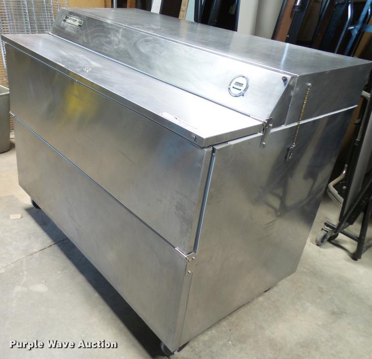 Beverage-Air 5MF58 stainless steel milk cooler