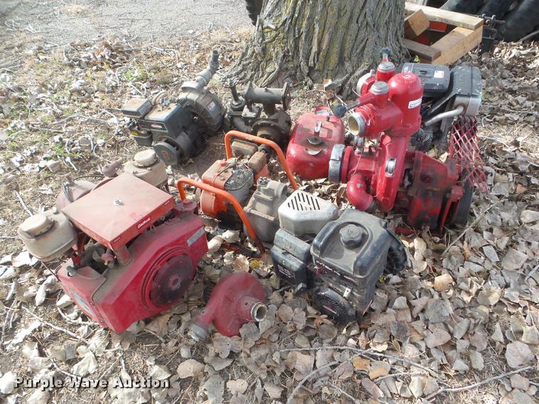 (6) water pumps