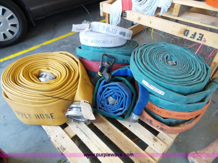 (11) rolls of fire hoses
