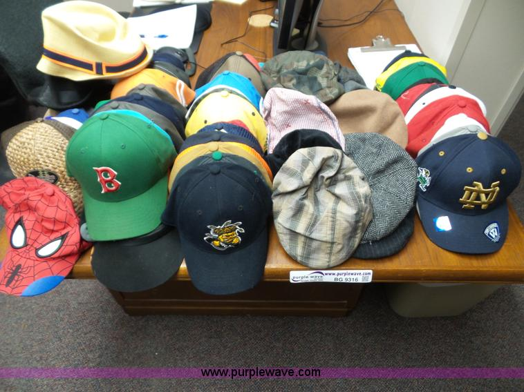 Approx. 68 caps and hats