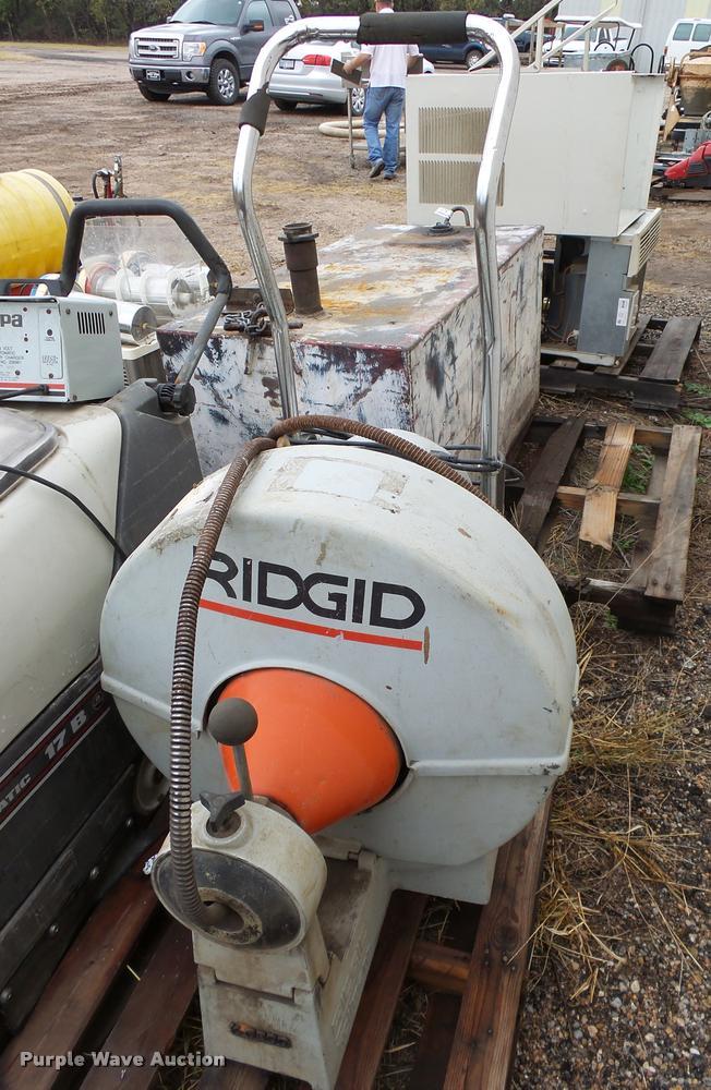 Ridgid K6800 commercial sewer snake