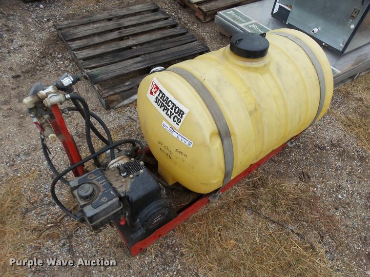 TSC slide-in sprayer