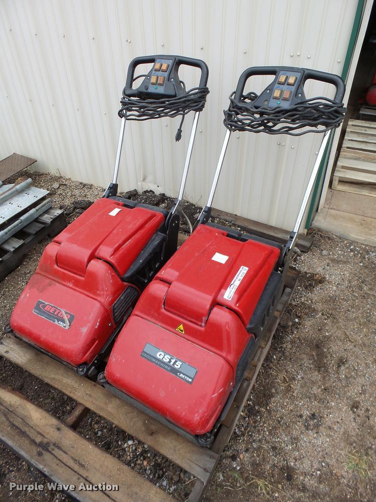 (2) Betco GS15 commercial floor scrubbers