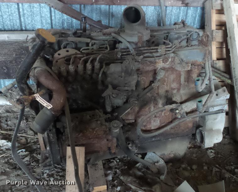 Ford six cylinder diesel engine
