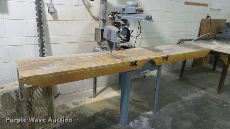 Delta radial arm saw