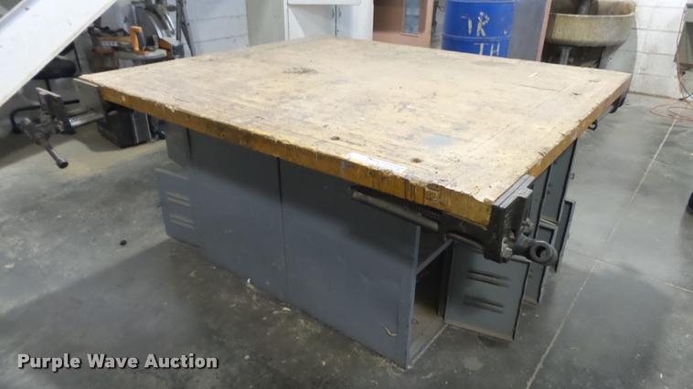 (2) workshop tables