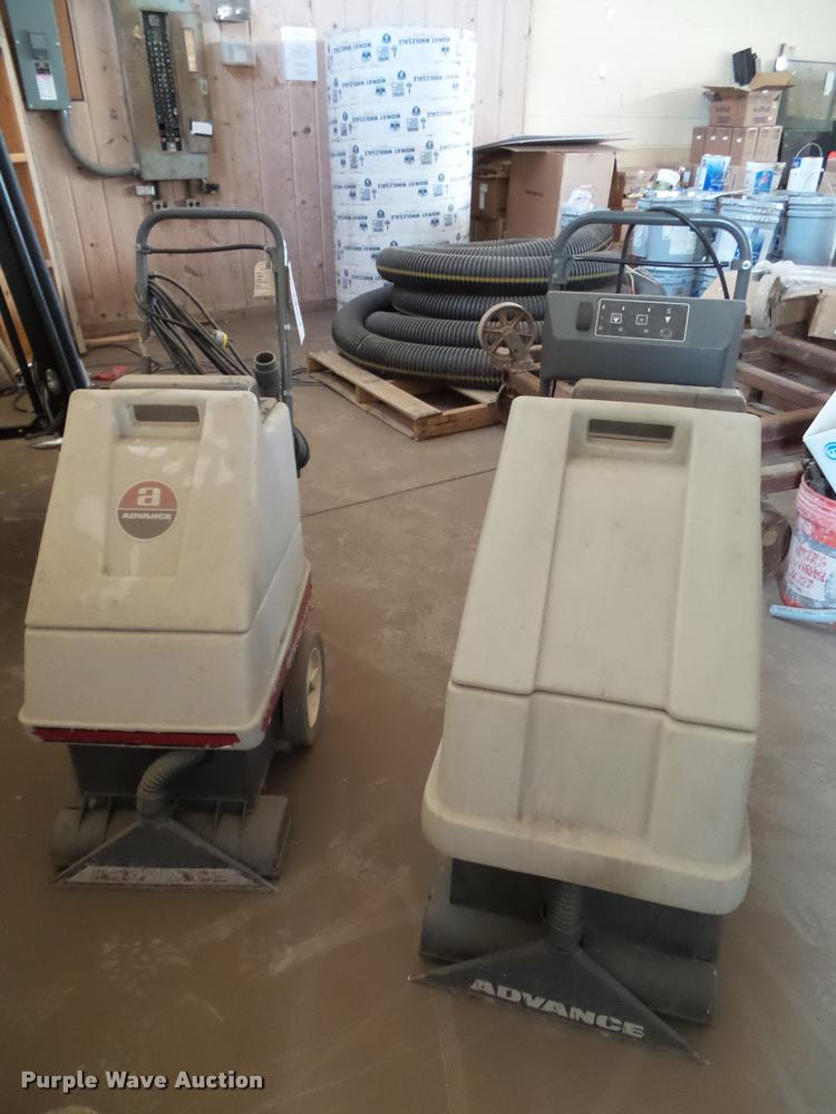 (3) Advance floor cleaners