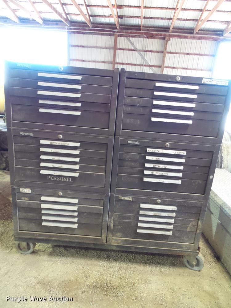 (6) Kennedy toolboxes