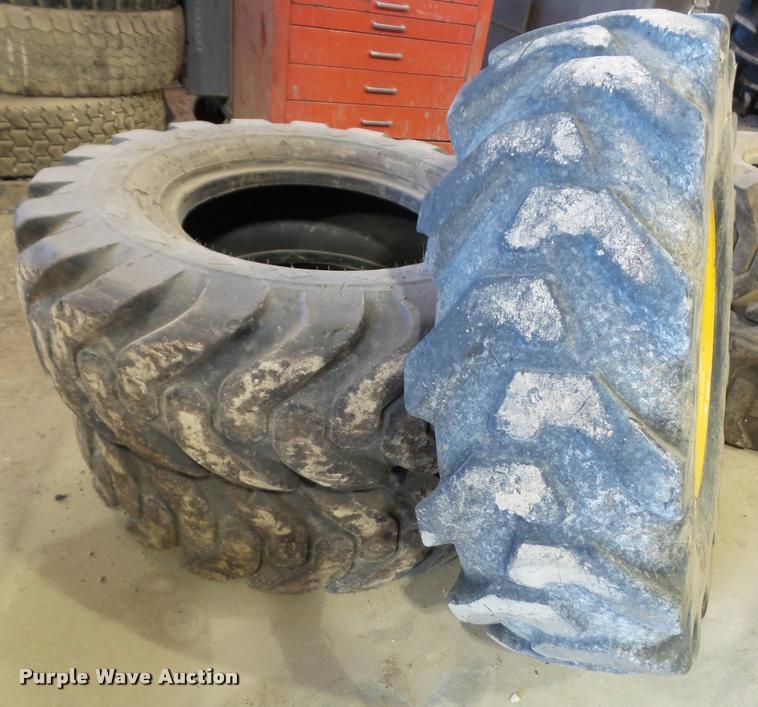 (3) 12.5/80-18 tires
