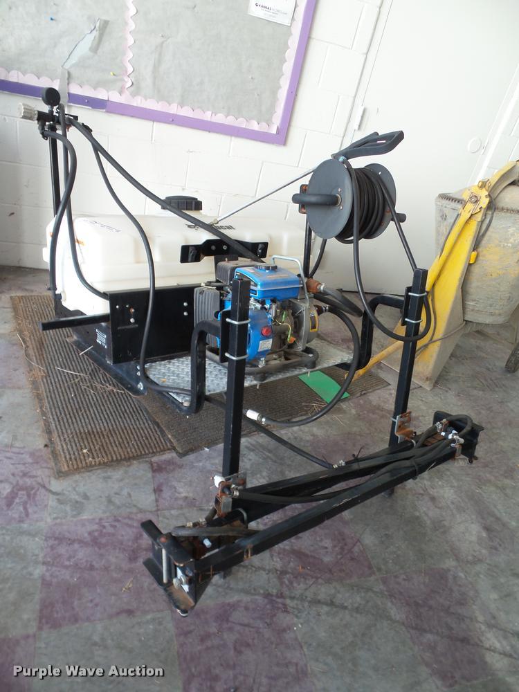 Bobcat spray rig