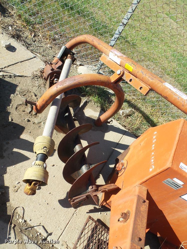 Greenline EM5000 auger