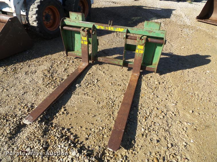 John Deere tractor forks