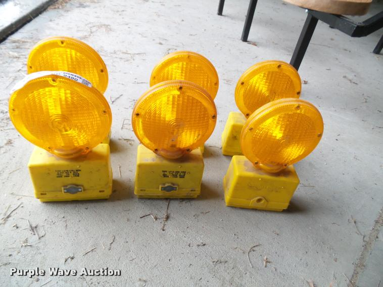 (6) safety flashers
