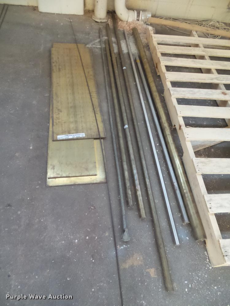 Brass and stainless steel rods and plates