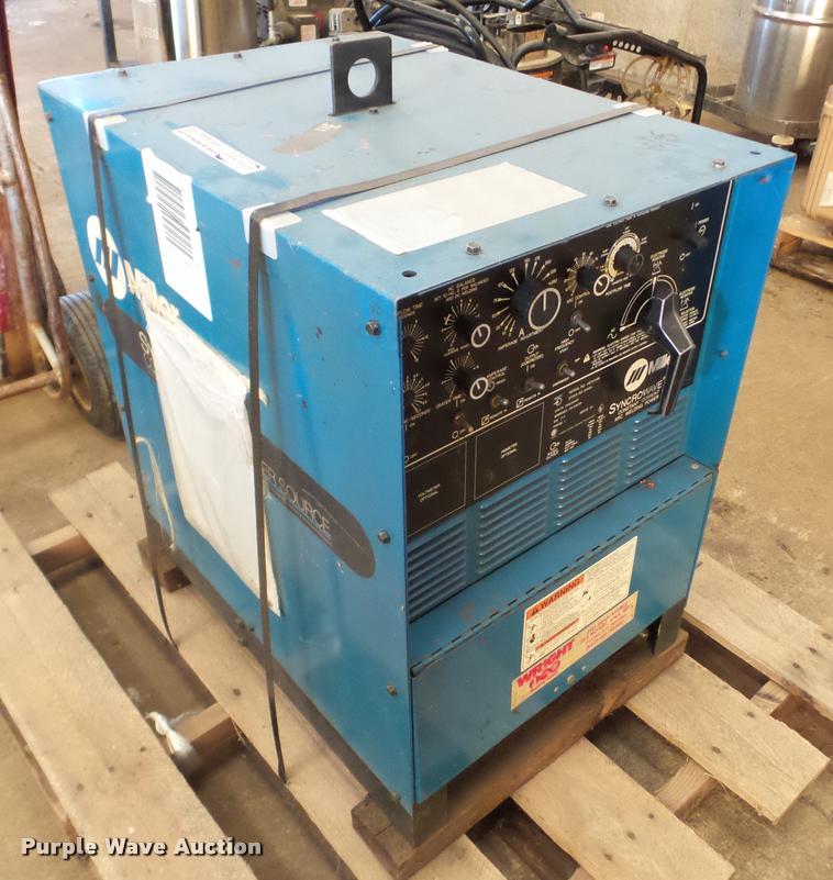 Miller Syncrowave 250 AC/DC welder
