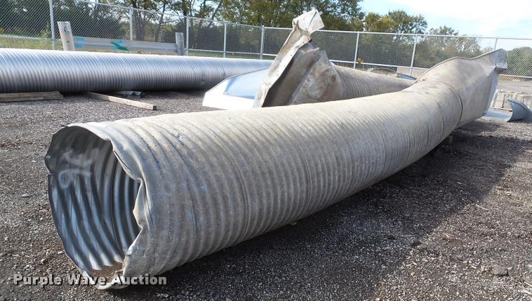 (2) corrugated drainage pipe