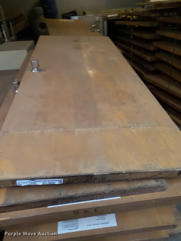 (17) fire rated wood doors