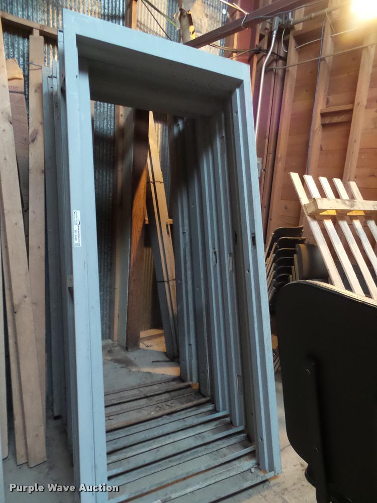 (5) steel door frames