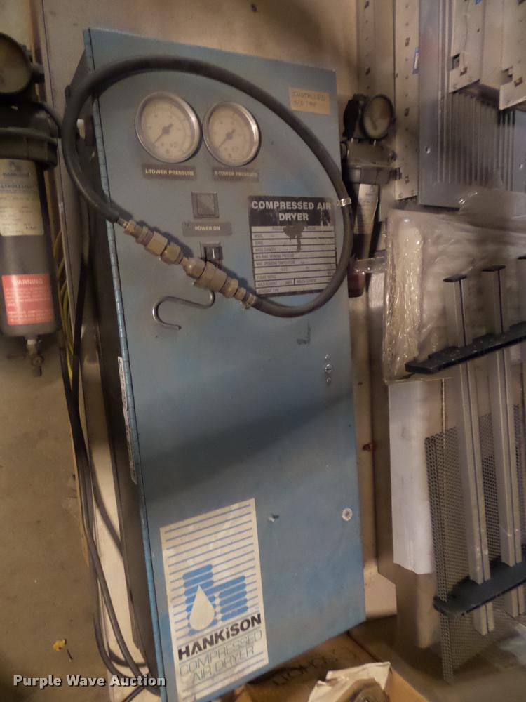 Hankison compressed air dryer