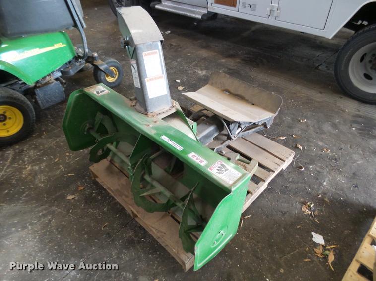 John Deere 8176 snow blower and weights