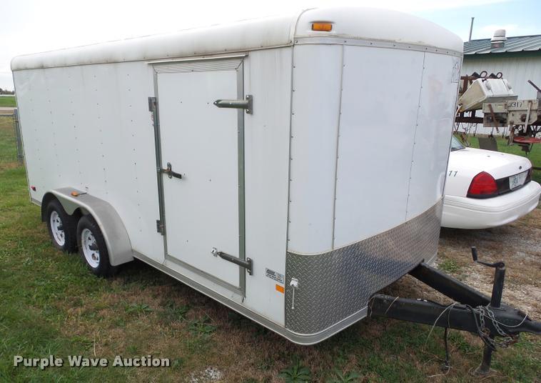 2008 Middlebury MST7X16TA2 enclosed cargo trailer