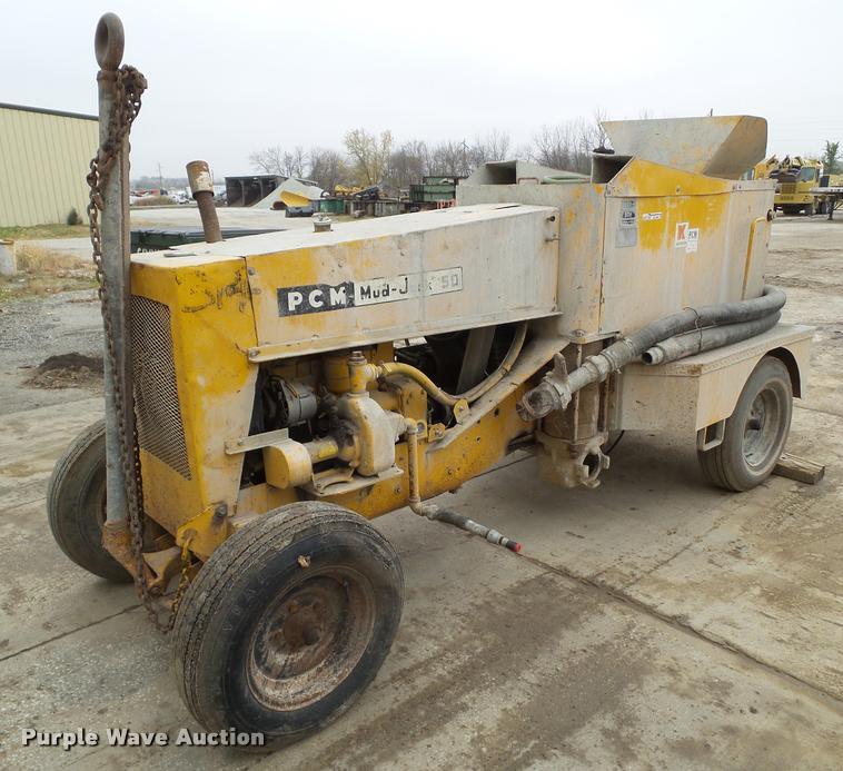 PCM 50 mud jack pump