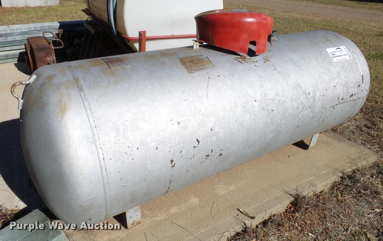 Steel, Inc. propane tank