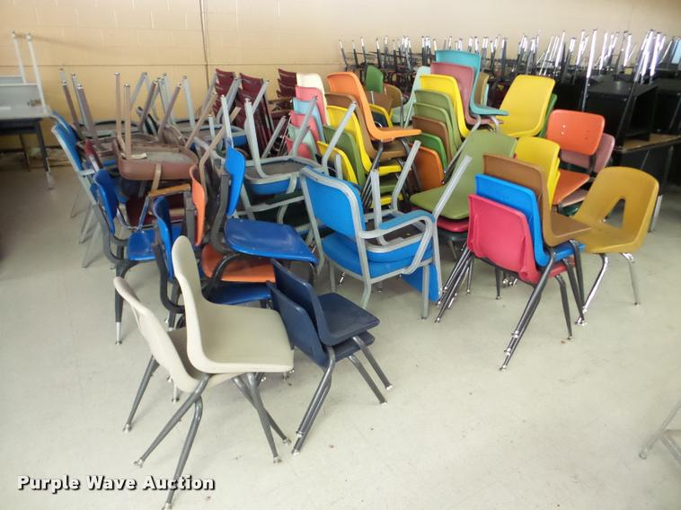 Approximately 100 chairs