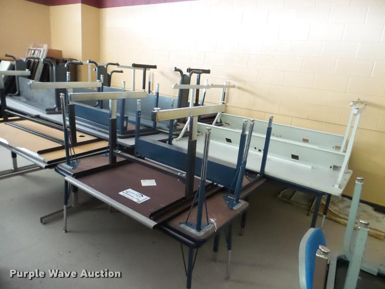 Approximately 45 computer desks