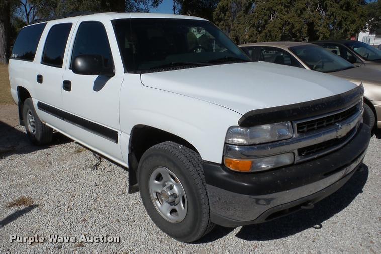 2001 Chevrolet Suburban SUV