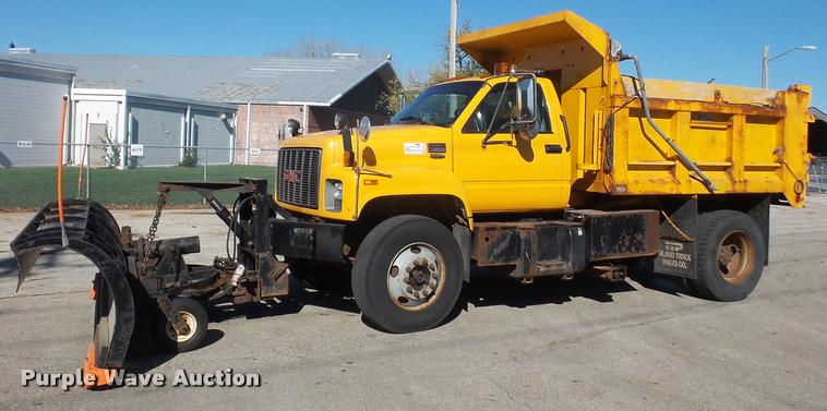 2000 GMC C8500 dump truck