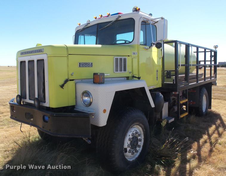 1980 International Paystar 5000 fire truck
