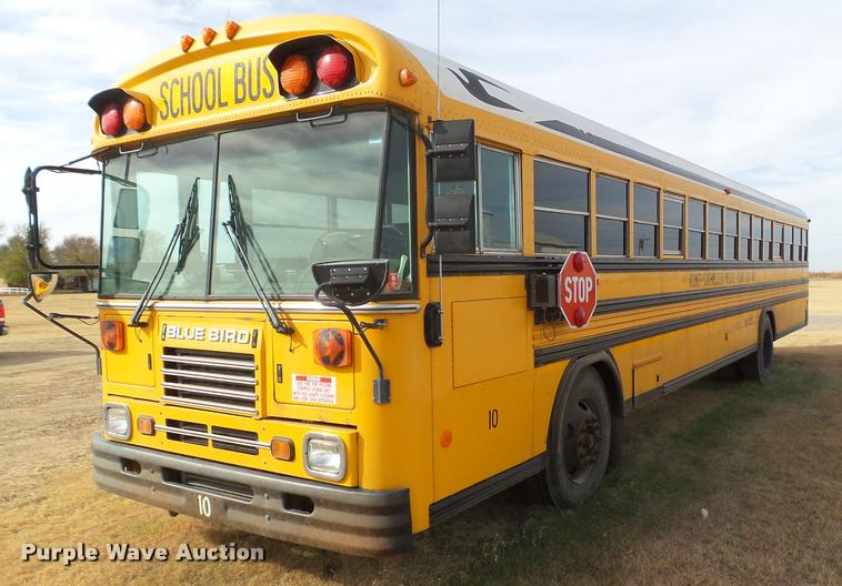 2001 Blue Bird TC2000 school bus