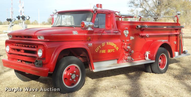 1966 Chevrolet C60 fire truck