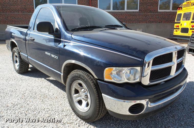 2004 Dodge Ram 1500 pickup truck