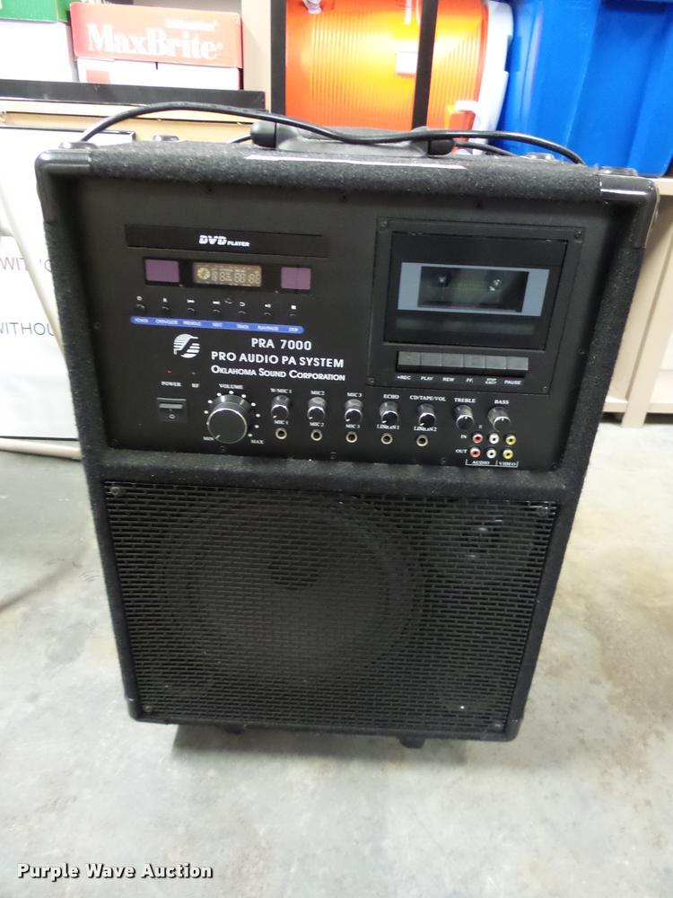 Oklahoma Sound PA system