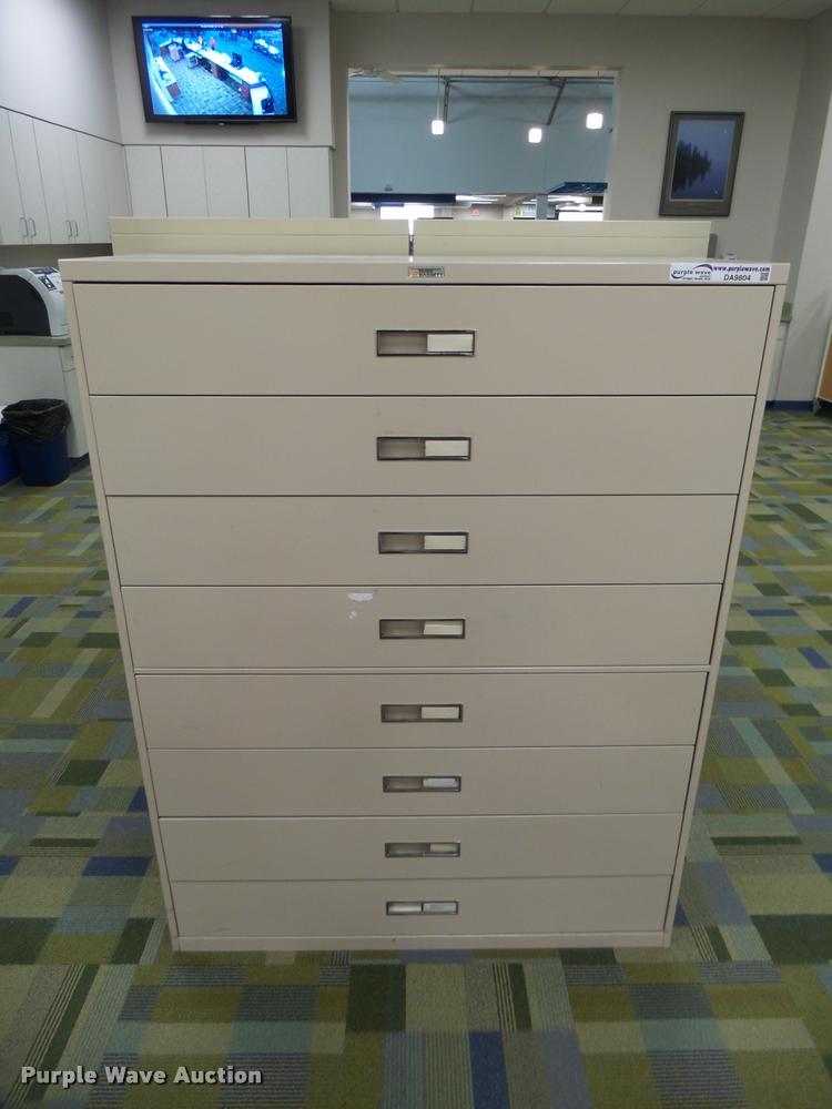 Russ Bassett metal cabinet