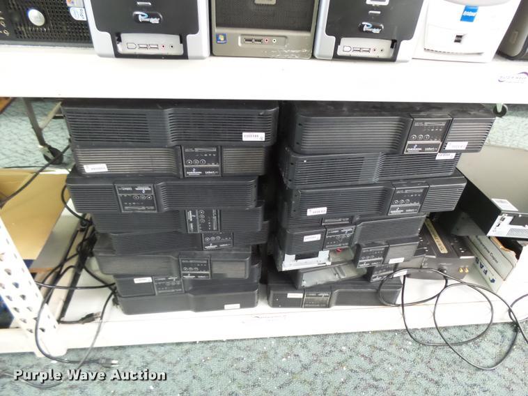 (19) Emerson Liebert PSI AC power systems