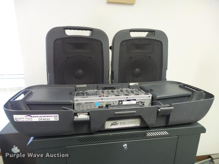 Peavey Escort audio system